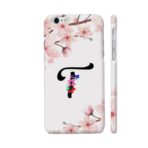 Letter T Watercolor iPhone 6 / 6s Cover | Artist: Kiran Maurya