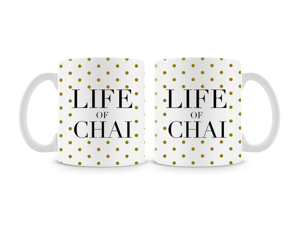 Life Of Chai Mug (Set of 2)