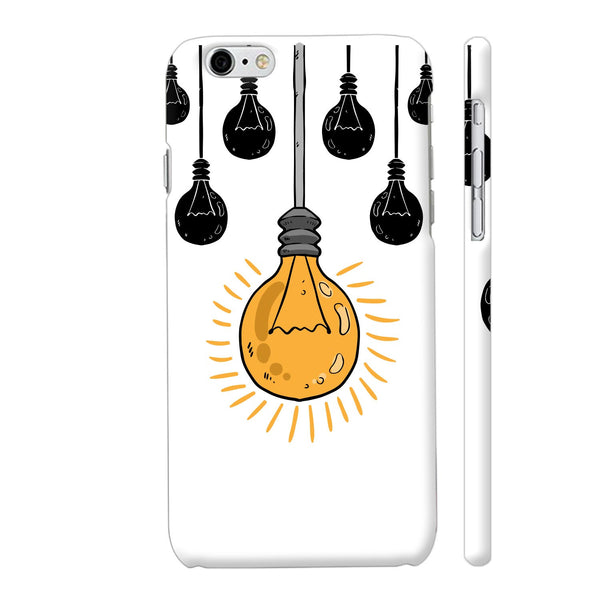 Light Bulb Yellow iPhone 6 Plus / 6s Plus Cover | Artist: Abhinav