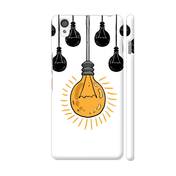 Light Bulb Yellow OnePlus X Cover | Artist: Abhinav