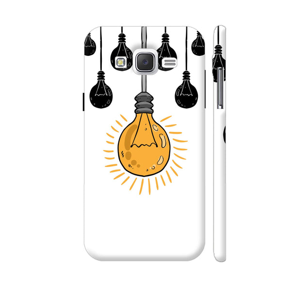 Light Bulb Yellow Samsung Galaxy J5 Case