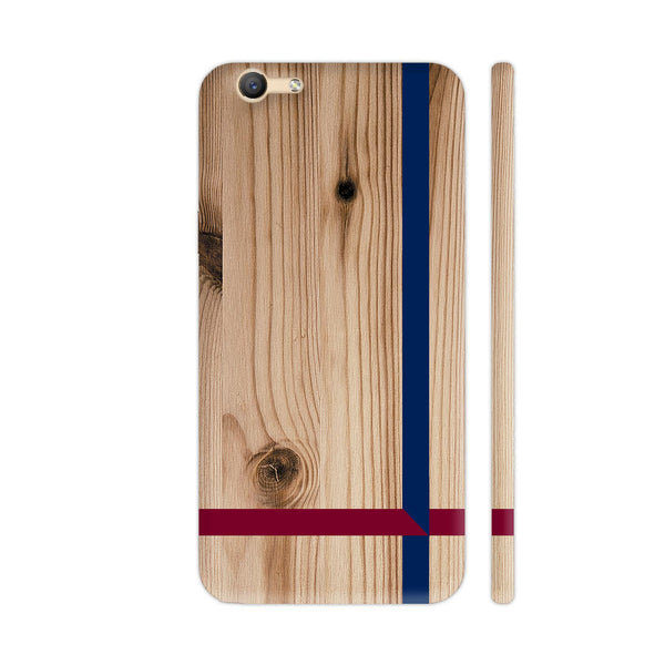 Light Wood Cross Vivo V5 / V5s Cover | Artist: Abhinav