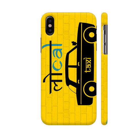 Local Taxi iPhone X Cover | Artist: Ravipratap