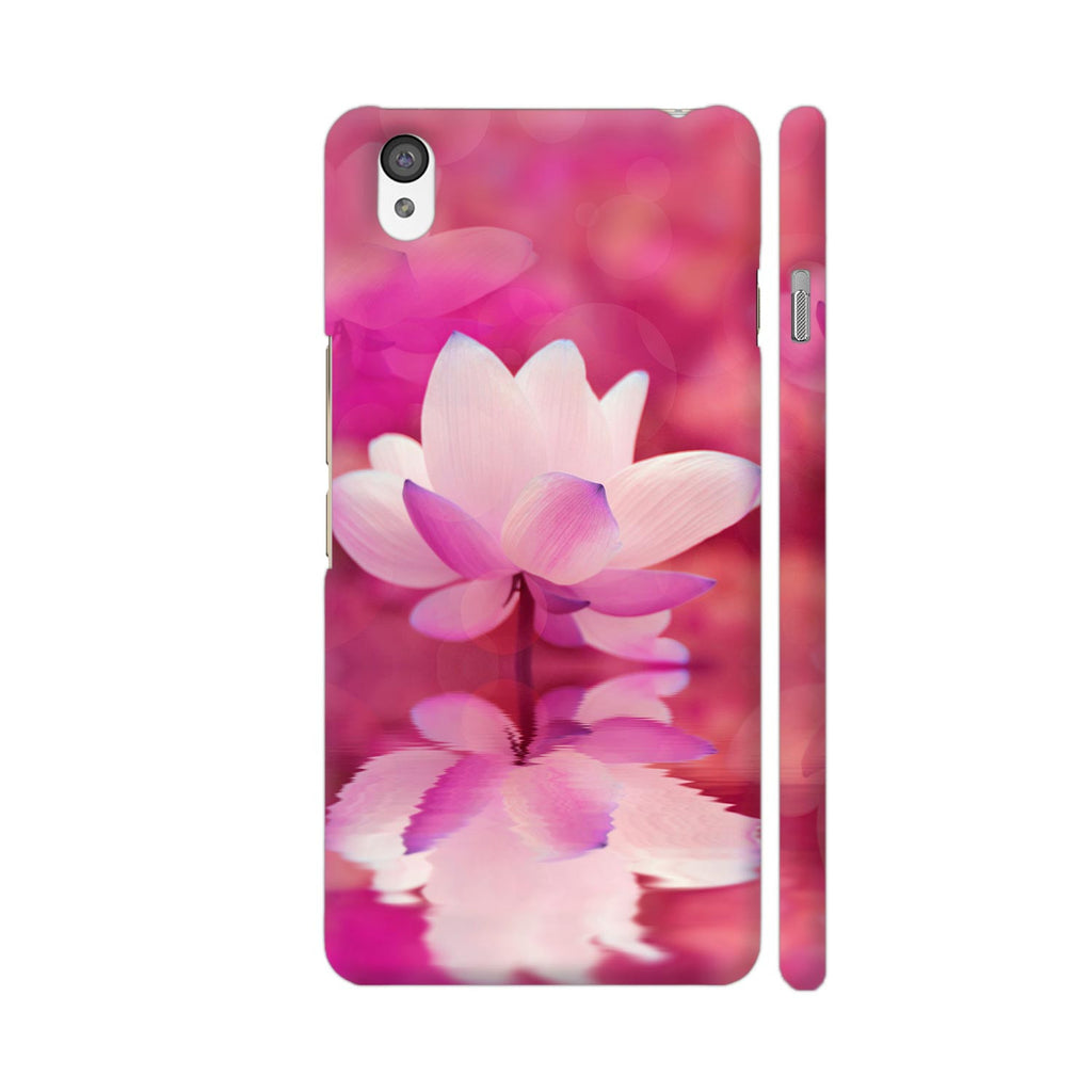 Colorpur Oneplus X Cover Lotus Flower Design Buy Online In India