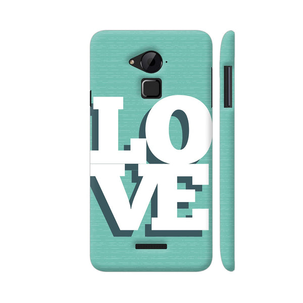 Love On Soft Green Coolpad Note 3 / Note 3 Plus Case