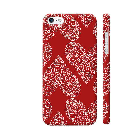 Love Pattern iPhone SE Cover | Artist: Astha