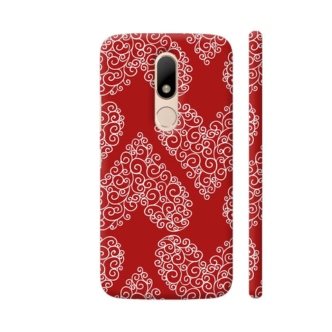 Love Pattern Moto M Cover | Artist: Astha