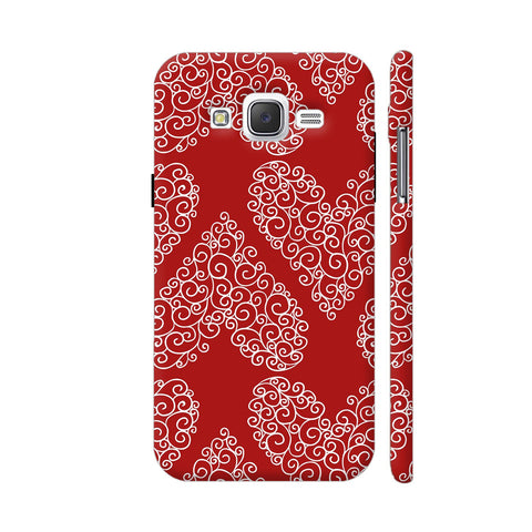 Love Pattern Samsung Galaxy J2 (Old) Cover | Artist: Astha
