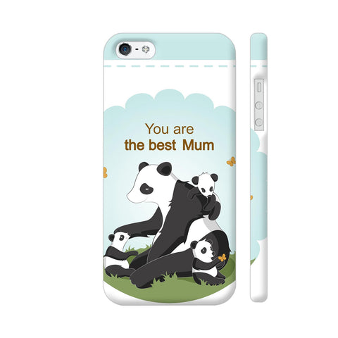 Lovely Panda Mom iPhone 5 / 5s Cover | Artist: Astha