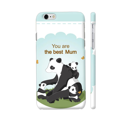 Lovely Panda Mom iPhone 6 / 6s Cover | Artist: Astha