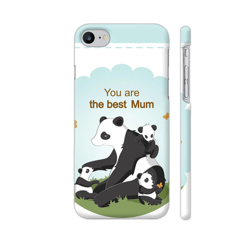 Lovely Panda Mom iPhone 7 Cover | Artist: Astha