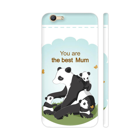Lovely Panda Mom Vivo Y55L Cover | Artist: Astha