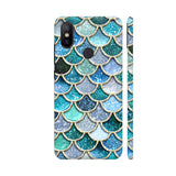 Luxury Aqua Mermaid Scales Xiaomi Mi A2 Cover | Artist: UtART