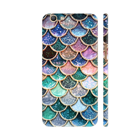 Luxury Mermaid Scales Oppo F3 Cover | Artist: UtART