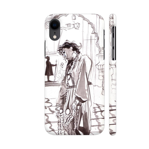 Madhubala As Anarkali In Mughal E Azam iPhone XR Cover | Artist: HeartAtArt