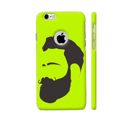 Man Beard iPhone 6 / 6s Logo Cut Cover | Artist: Ashish Singh
