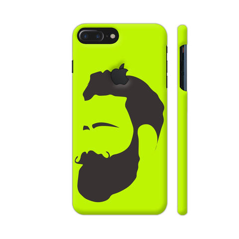 Man Beard iPhone 7 Plus Logo Cut Cover | Artist: Ashish Singh