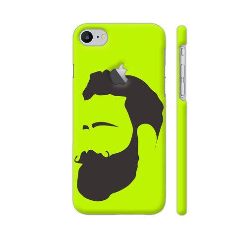 Man Beard iPhone 7 Logo Cut Cover | Artist: Ashish Singh