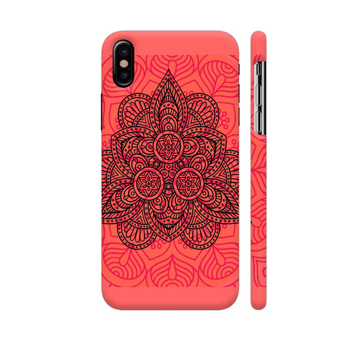 Mandala Triangle iPhone X Cover | Artist: Nilesh Gupta