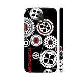 Mechanical Engineering In Black Motorola Moto E3 / Moto E3 Power Case