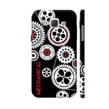 Mechanical Engineering In Black Samsung Galaxy E5 Case