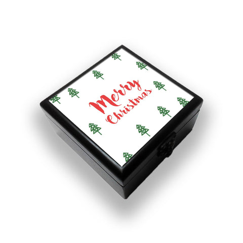 Merry Christmas Minimal Jewellery Box
