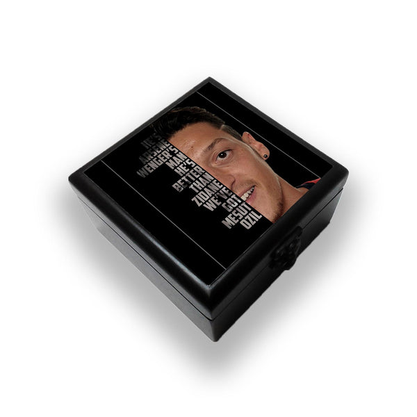 Mesut Ozil Typography Jewellery Box