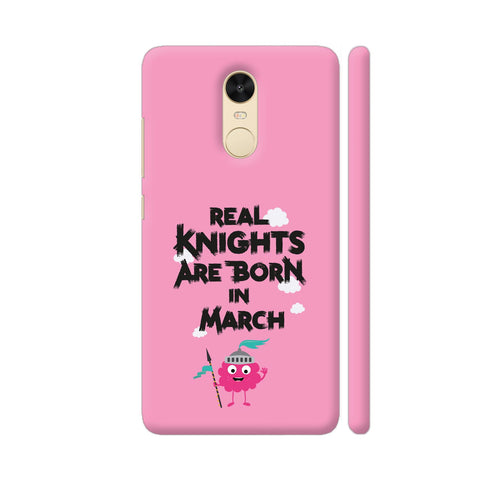 Monster Knights Born In March Redmi Note 4 Cover | Artist: Torben