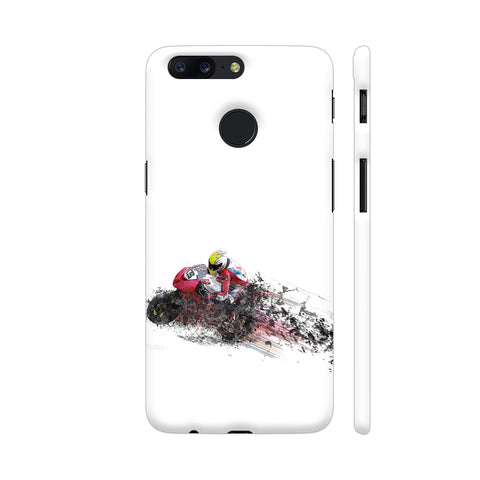 Motorbike Bike Sport OnePlus 5T Cover | Artist: WonderfulDreamPicture