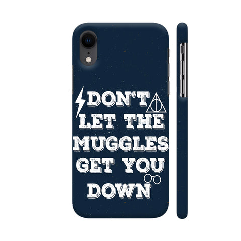 Muggles iPhone XR Cover | Artist: Manju NK