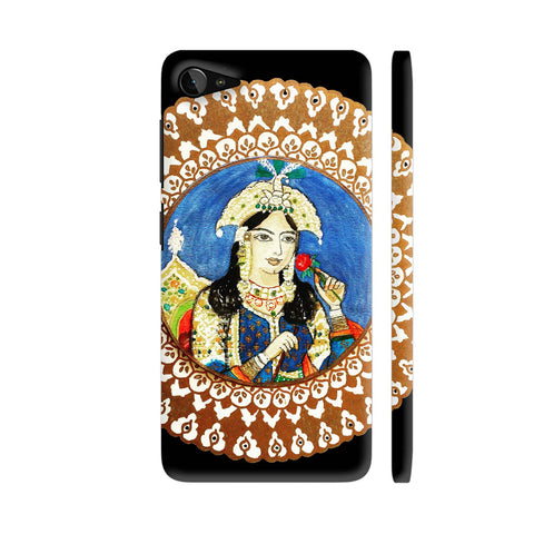 Mughal E Azam Mumtaz Mahal On Black Lenovo Z2 Plus Cover | Artist: Ismat