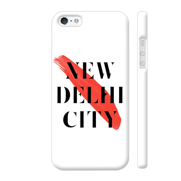 New Delhi City iPhone 5 / 5s Cover | Artist: Abhinav