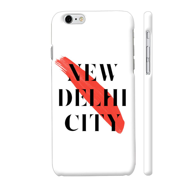 New Delhi City iPhone 6 Plus / 6s Plus Cover | Artist: Abhinav