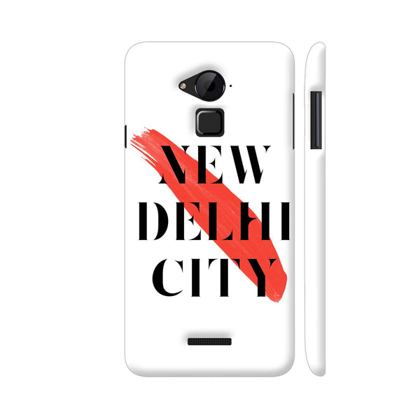 New Delhi City Coolpad Note 3 / Note 3 Plus Case