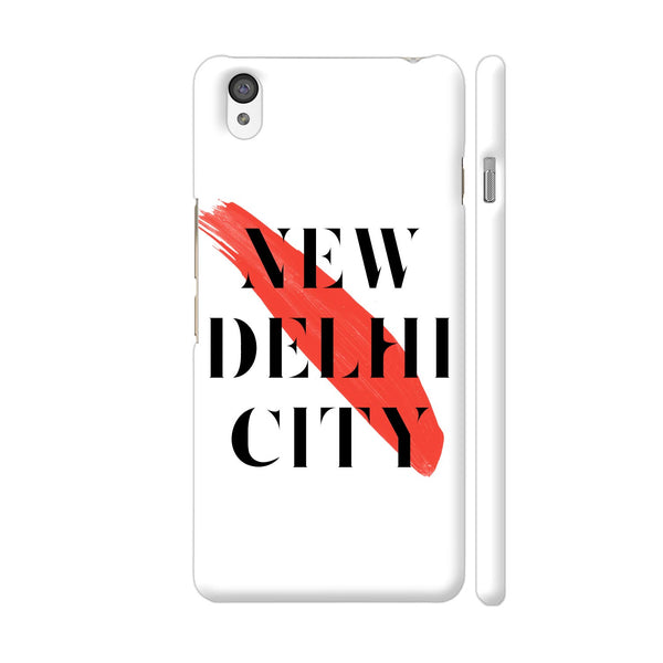 New Delhi City OnePlus X Cover | Artist: Abhinav