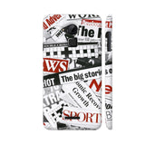 Newspaper Cutting Coolpad Note 3 / Note 3 Plus Case