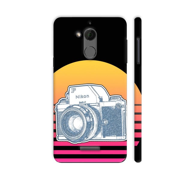 Nikon F Synth Neon Coolpad Note 5 Cover | Artist: 3ZDesigns