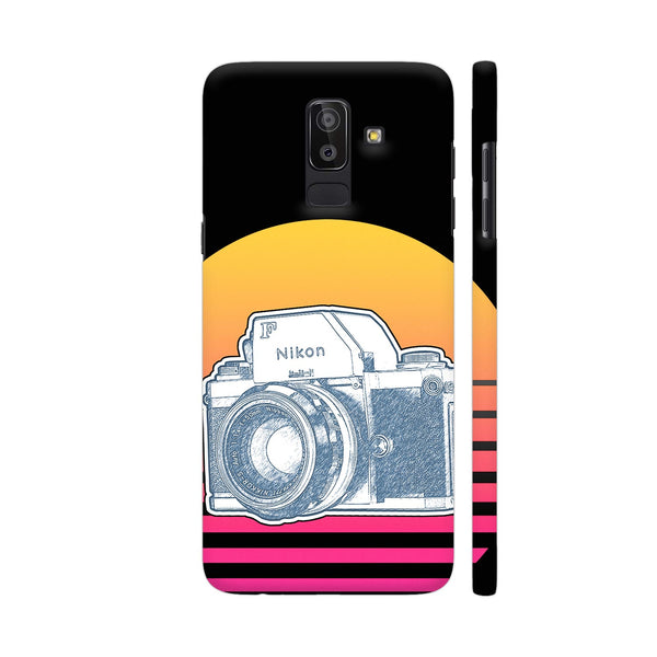 Nikon F Synth Neon Samsung On8 2018 Cover | Artist: 3ZDesigns