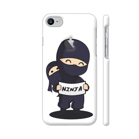 Ninja iPhone 7 Logo Cut Cover | Artist: Ashish Singh
