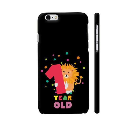 One Year First Birthday Party Lion iPhone 6 Plus / 6s Plus Cover | Artist: Torben