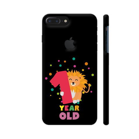 One Year First Birthday Party Lion iPhone 7 Plus Logo Cut Cover | Artist: Torben