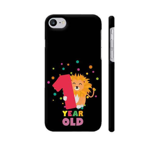 One Year First Birthday Party Lion iPhone 7 Cover | Artist: Torben
