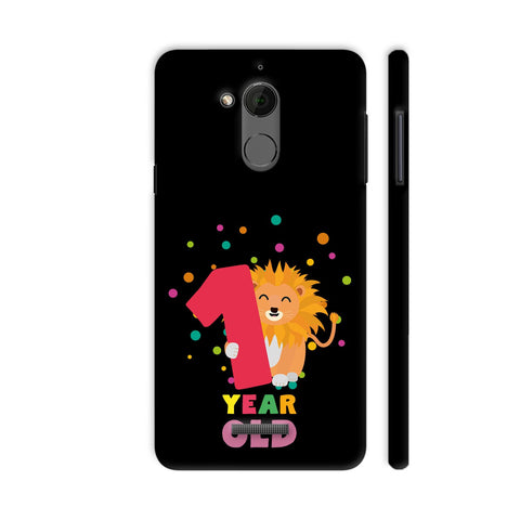 One Year First Birthday Party Lion Coolpad Note 5 Cover | Artist: Torben