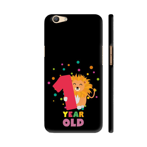One Year First Birthday Party Lion Oppo F1s Cover | Artist: Torben