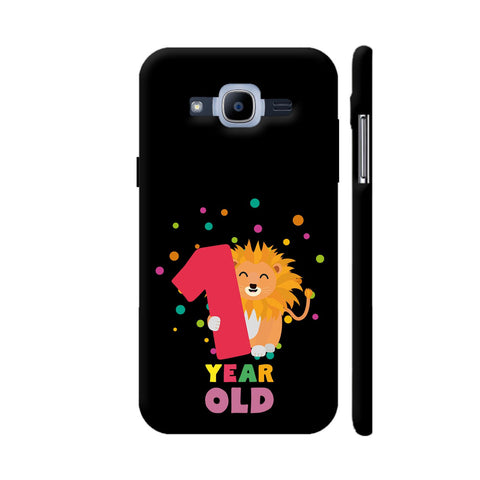 One Year First Birthday Party Lion Samsung Galaxy J2 (2016) Cover | Artist: Torben