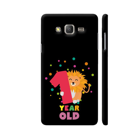 One Year First Birthday Party Lion Samsung Galaxy On5 Pro Cover | Artist: Torben