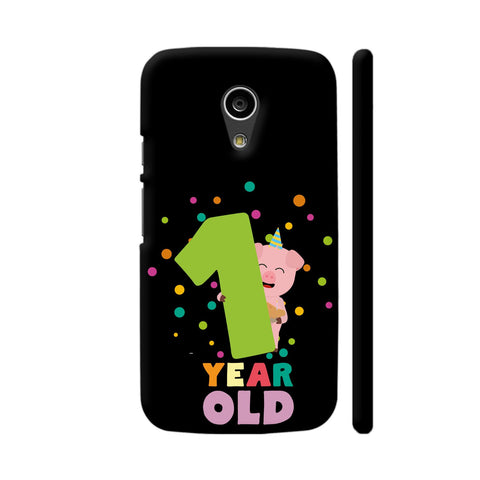 One Year First Birthday Party Moto G2 Cover | Artist: Torben