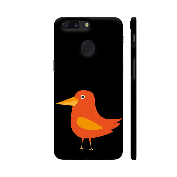 Orange Bird OnePlus 5T Cover | Artist: Torben