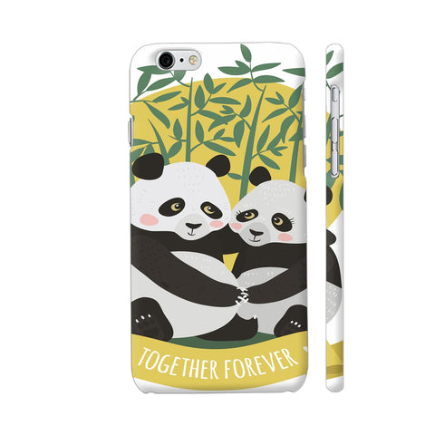 Panda Couples iPhone 6 Plus / 6s Plus Cover | Artist: Astha