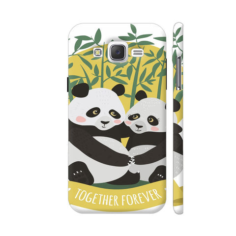 Panda Couples Samsung Galaxy J2 (Old) Cover | Artist: Astha